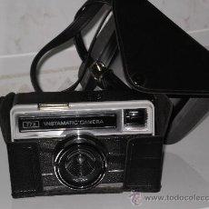 Cámara de fotos: CAMARA INSTAMATIC 77X DE KODAK , INCLUYE SU FUNDA ORIGINAL EN PIEL .. Lote 30727885