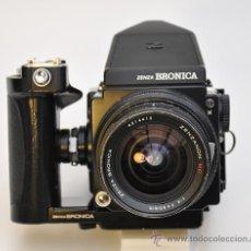 Cámara de fotos - ZENZA BRONICA ETRS, OBJETIVO ZENZANON 1:4 F-40mm, EMPUÑADURA ETR , VISOR PRISMA Y RESPALDO 120 - 30887988