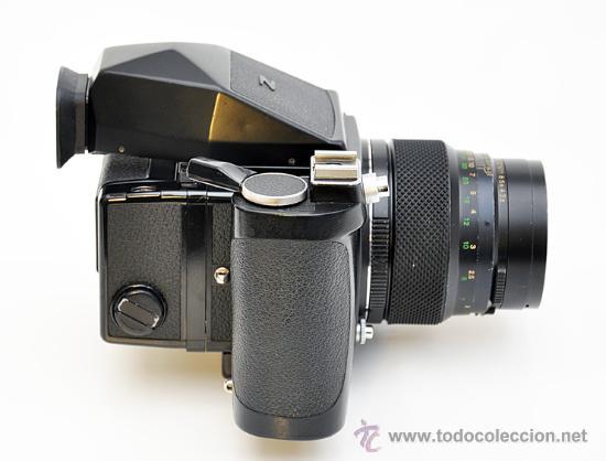 Cámara de fotos: ZENZA BRONICA ETRS, OBJETIVO ZENZANON 1:3,5 F-150mm, EMPUÑADURA ETR , VISOR DE PRISMA Y RESPALDO 120 - Foto 2 - 30888454