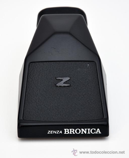 Cámara de fotos: ZENZA BRONICA ETRS, OBJETIVO ZENZANON 1:4 F-40mm, EMPUÑADURA ETR , VISOR PRISMA Y RESPALDO 120 - Foto 10 - 30887988