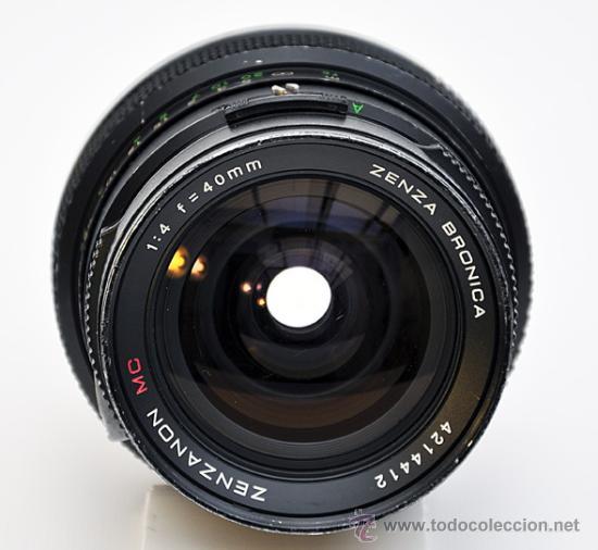 Cámara de fotos: ZENZA BRONICA ETRS, OBJETIVO ZENZANON 1:4 F-40mm, EMPUÑADURA ETR , VISOR PRISMA Y RESPALDO 120 - Foto 18 - 30887988