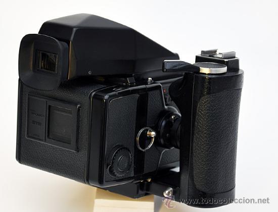 Cámara de fotos: ZENZA BRONICA ETRS, OBJETIVO ZENZANON 1:4 F-40mm, EMPUÑADURA ETR , VISOR PRISMA Y RESPALDO 120 - Foto 2 - 30887988