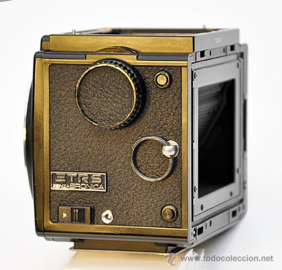 Cámara de fotos: ZENZA BRONICA ETRS, OBJETIVO ZENZANON 1:4 F-40mm, EMPUÑADURA ETR , VISOR PRISMA Y RESPALDO 120 - Foto 4 - 30887988