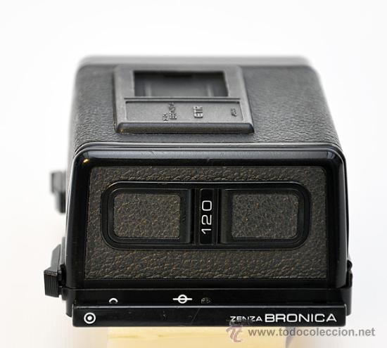 Cámara de fotos: ZENZA BRONICA ETRS, OBJETIVO ZENZANON 1:4 F-40mm, EMPUÑADURA ETR , VISOR PRISMA Y RESPALDO 120 - Foto 16 - 30887988
