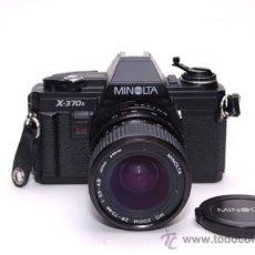 Cámara de fotos: MINOLTA X-370S+ MINOLTA 28-70MM 1:3,5-4,8. Lote 30996745