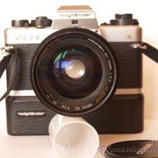 Cámara de fotos: VOIGTLANDER VSL3-E + TAMRON 35-70MM MACRO + MOTOR / FUNCIONANDO Y EN EXCELENTE ESTADO. Lote 31157019