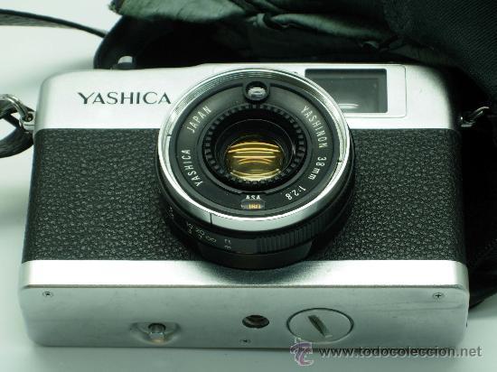 Cámara de fotos: Cámara Yashica Yashinon ME 35 38 mm con su funda años 70 - Foto 3 - 52786786