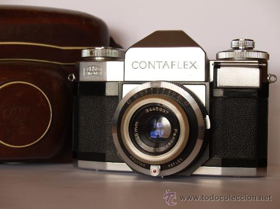 Cámara de fotos: ZEISS IKON CONTAFLEX BETA / FUNCIONANDO / EN EXCELENTE ESTADO - Foto 2 - 27181299