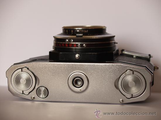 Cámara de fotos: ZEISS IKON CONTAFLEX BETA / FUNCIONANDO / EN EXCELENTE ESTADO - Foto 4 - 27181299