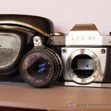 Cámara de fotos: EXA II B / FABRICADA POR IHAGEE EN DRESDE (ALEMANIA) / EXCELENTE ESTADO Y FUNCIONANDO. Lote 31306400