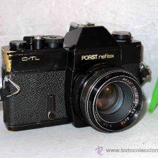 Cámara de fotos: EXCELENTE CAMARA REFLEX..JAPON 1975..PORST REFLEX C-TL NEGRA+PORST COLOR 1,7....FUNCIONA. Lote 31528655