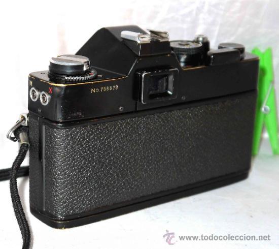 Cámara de fotos: EXCELENTE CAMARA REFLEX..JAPON 1975..PORST REFLEX C-TL NEGRA+PORST COLOR 1,7....FUNCIONA - Foto 6 - 31528655