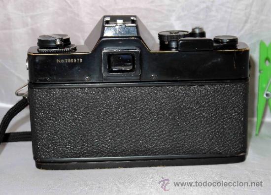 Cámara de fotos: EXCELENTE CAMARA REFLEX..JAPON 1975..PORST REFLEX C-TL NEGRA+PORST COLOR 1,7....FUNCIONA - Foto 7 - 31528655