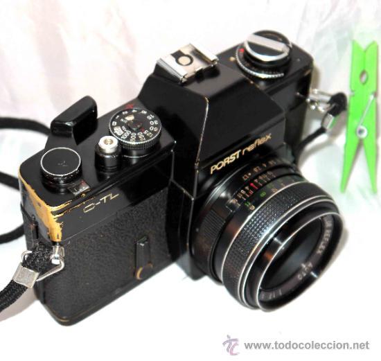 Cámara de fotos: EXCELENTE CAMARA REFLEX..JAPON 1975..PORST REFLEX C-TL NEGRA+PORST COLOR 1,7....FUNCIONA - Foto 10 - 31528655