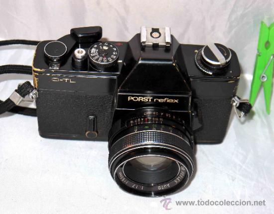 Cámara de fotos: EXCELENTE CAMARA REFLEX..JAPON 1975..PORST REFLEX C-TL NEGRA+PORST COLOR 1,7....FUNCIONA - Foto 11 - 31528655