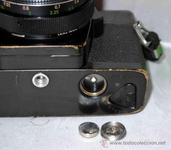 Cámara de fotos: EXCELENTE CAMARA REFLEX..JAPON 1975..PORST REFLEX C-TL NEGRA+PORST COLOR 1,7....FUNCIONA - Foto 14 - 31528655