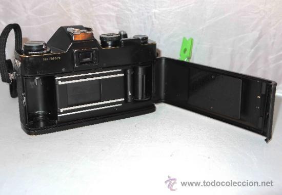 Cámara de fotos: EXCELENTE CAMARA REFLEX..JAPON 1975..PORST REFLEX C-TL NEGRA+PORST COLOR 1,7....FUNCIONA - Foto 17 - 31528655