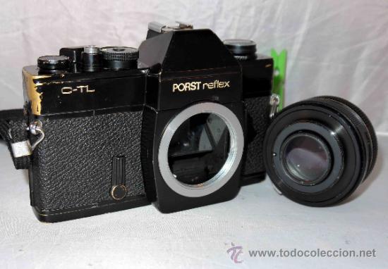 Cámara de fotos: EXCELENTE CAMARA REFLEX..JAPON 1975..PORST REFLEX C-TL NEGRA+PORST COLOR 1,7....FUNCIONA - Foto 19 - 31528655