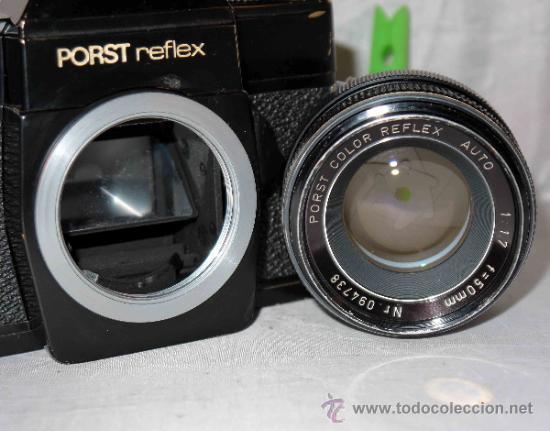 Cámara de fotos: EXCELENTE CAMARA REFLEX..JAPON 1975..PORST REFLEX C-TL NEGRA+PORST COLOR 1,7....FUNCIONA - Foto 20 - 31528655