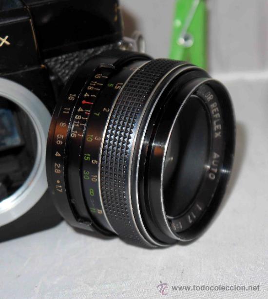 Cámara de fotos: EXCELENTE CAMARA REFLEX..JAPON 1975..PORST REFLEX C-TL NEGRA+PORST COLOR 1,7....FUNCIONA - Foto 21 - 31528655
