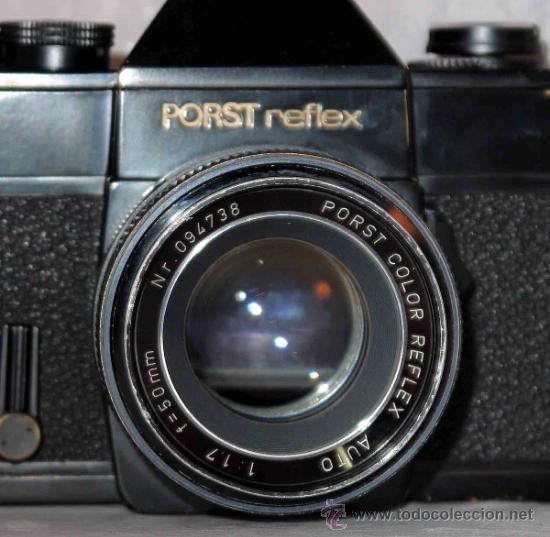 Cámara de fotos: EXCELENTE CAMARA REFLEX..JAPON 1975..PORST REFLEX C-TL NEGRA+PORST COLOR 1,7....FUNCIONA - Foto 23 - 31528655