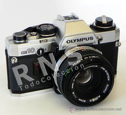 CÁMARA DE FOTOS OLYMPUS OM10 RÉFLEX + OBJETIVO 50MM FOTOGRÁFICA FOTOGRAFÍA CLÁSICA OM-10 MÁQUINA (Cámaras Fotográficas - Réflex (no autofoco))