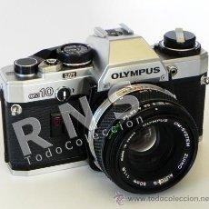 Cámara de fotos: CÁMARA DE FOTOS OLYMPUS OM10 RÉFLEX + OBJETIVO 50MM FOTOGRÁFICA FOTOGRAFÍA CLÁSICA OM-10 MÁQUINA. Lote 32563938