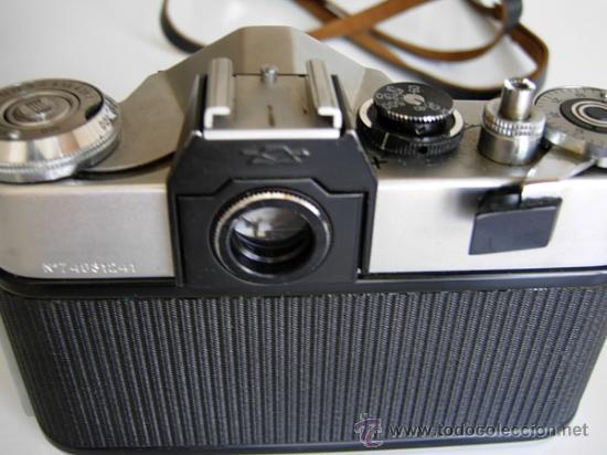 Cámara de fotos: Cámara ZENIT - EM, Reflex años 70 de la Unión Soviética URSS, funda original. Objetivo Helios 44 - Foto 5 - 27323822