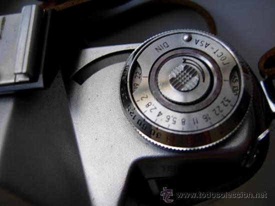 Cámara de fotos: Cámara ZENIT - EM, Reflex años 70 de la Unión Soviética URSS, funda original. Objetivo Helios 44 - Foto 7 - 27323822