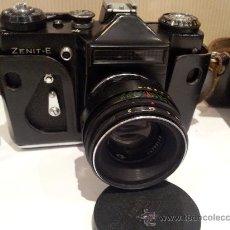 Cámara de fotos - antigua camara de fotos zenit-E buenisimo estado - 65940994