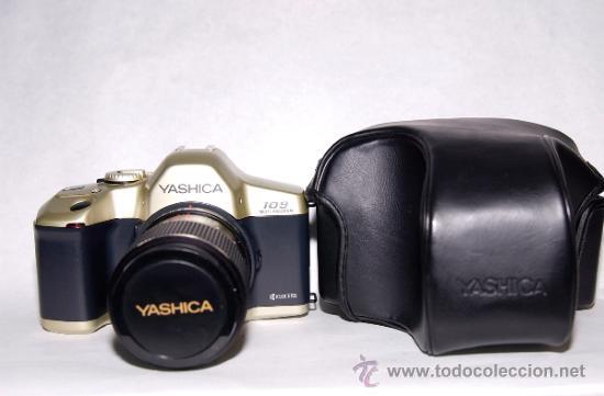 YASHICA 109 MP+ YASHICA LENS 35-70MM+FUNDA (Cámaras Fotográficas - Réflex (no autofoco))