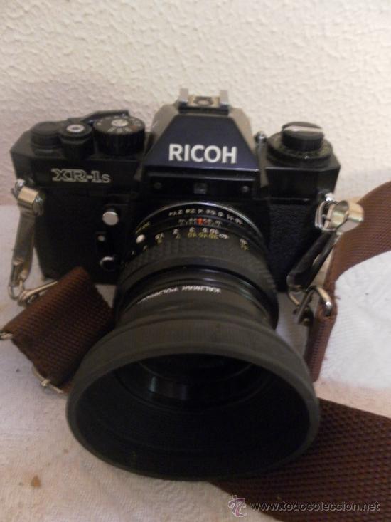 Cámara de fotos: Cámara fotográfica Ricoh, Fabricada en Japón. Con objetivo, flash y funda. - Foto 3 - 34652117