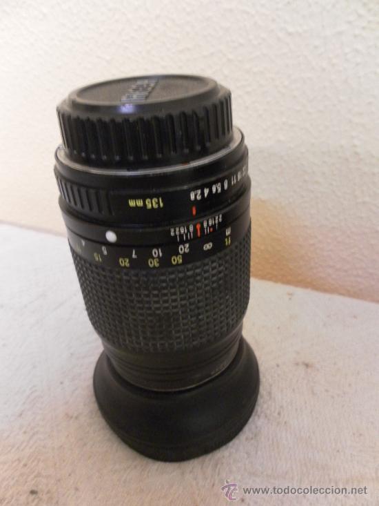 Cámara de fotos: Cámara fotográfica Ricoh, Fabricada en Japón. Con objetivo, flash y funda. - Foto 4 - 34652117