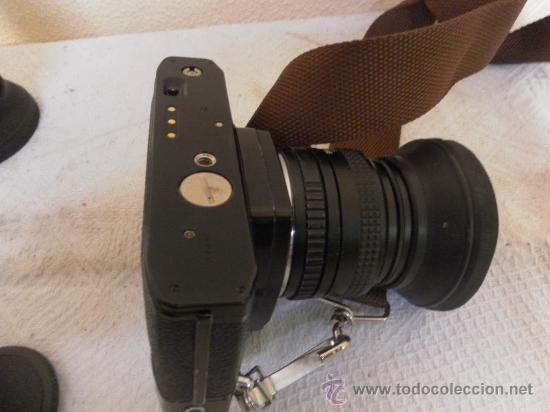 Cámara de fotos: Cámara fotográfica Ricoh, Fabricada en Japón. Con objetivo, flash y funda. - Foto 7 - 34652117