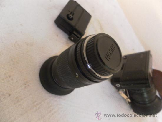 Cámara de fotos: Cámara fotográfica Ricoh, Fabricada en Japón. Con objetivo, flash y funda. - Foto 9 - 34652117