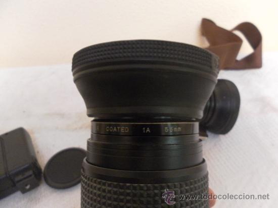 Cámara de fotos: Cámara fotográfica Ricoh, Fabricada en Japón. Con objetivo, flash y funda. - Foto 10 - 34652117