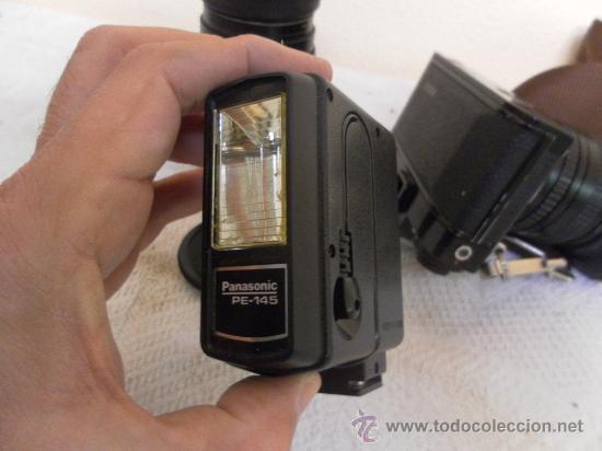 Cámara de fotos: Cámara fotográfica Ricoh, Fabricada en Japón. Con objetivo, flash y funda. - Foto 11 - 34652117