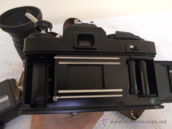 Cámara de fotos: Cámara fotográfica Ricoh, Fabricada en Japón. Con objetivo, flash y funda. - Foto 13 - 34652117