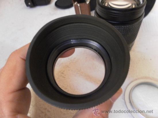 Cámara de fotos: Cámara fotográfica Ricoh, Fabricada en Japón. Con objetivo, flash y funda. - Foto 17 - 34652117