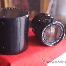 Cámara de fotos: ZOOM SOLIGOR 28-55 F:3,3-4,5 PARA BAYONETA KONICA + FUNDA.. Lote 34678329