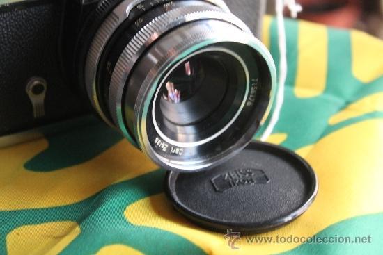 Cámara de fotos: Zeiss Ikon Icarex 35S + Tessar F:2,8 y funda de cuero. - Foto 4 - 35641639