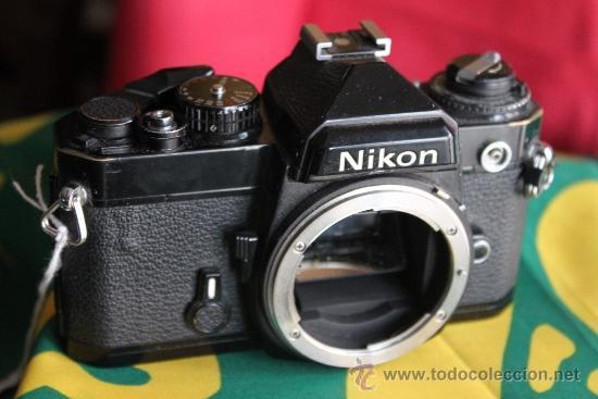 NIKON FE NEGRA (Cámaras Fotográficas - Réflex (no autofoco))