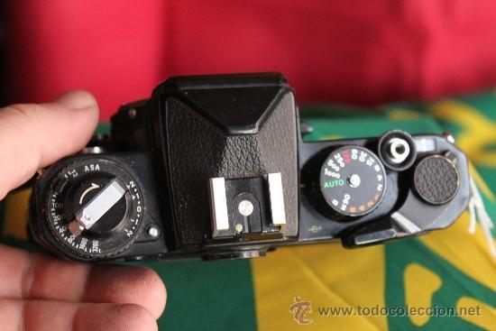 Cámara de fotos: Nikon FE negra - Foto 2 - 35642375