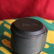 Cámara de fotos: CANON 50MM F:1,8 + TAPAS (AF PARA LA CANON T-80). Lote 35780378