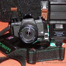 Cámara de fotos: LOTE CAMARA YASHICA FX 3 SUPER 2000. VER DESCRIPCION. Lote 36017836