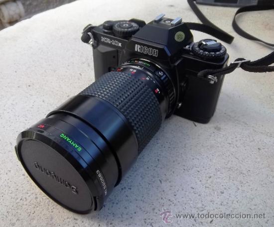 CAMARA RICOH REFLEX KR-10X ANALOGICA (Cámaras Fotográficas - Réflex (no autofoco))