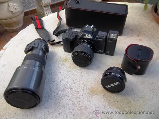 MAGNIFICA CAMARA REFLEX RICOH XR-X ANALOGICA (Cámaras Fotográficas - Réflex (no autofoco))
