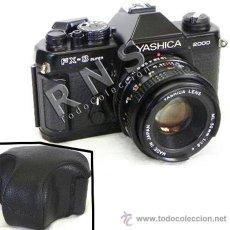 Cámara de fotos: CÁMARA DE FOTOS RÉFLEX YASHICA FX3 SUPER 2000 + FUNDA + OBJETIVO FOTOGRÁFICA FOTOGRAFÍA FX 3 MÁQUINA. Lote 126379092