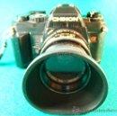 Cámara de fotos: CAMARA FOTOGRAFICA CHINON CE5 - REFLEX - OBJETIVO COSINON 1,7.50MM - PARASOL - FUNCIONA - AÑO 1985.. Lote 36888533