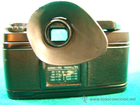 Cámara de fotos: CAMARA FOTOGRAFICA CHINON CE5 - REFLEX - OBJETIVO COSINON 1,7.50MM - PARASOL - FUNCIONA - AÑO 1985. - Foto 7 - 36888533